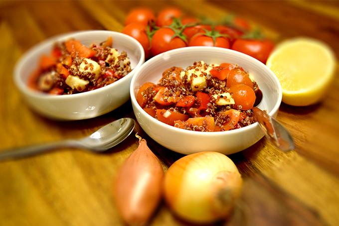 Quinoa Tomatensalat