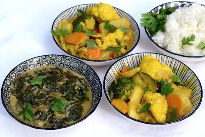 Gemüsecurry 1