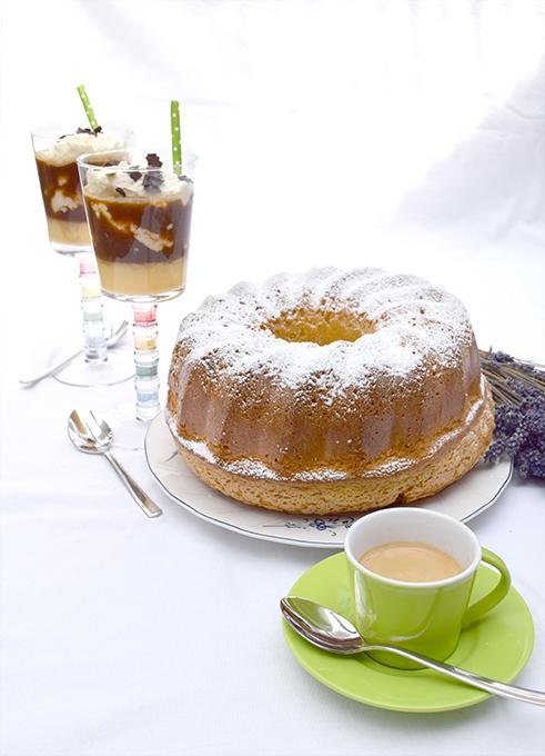 Eierlikörkuchen Kaffee Eierrlikör Sahne Espressotasse