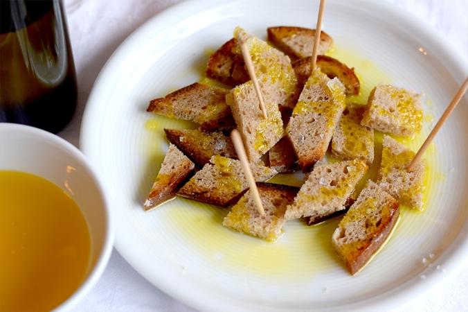 Brot mit Leinöl