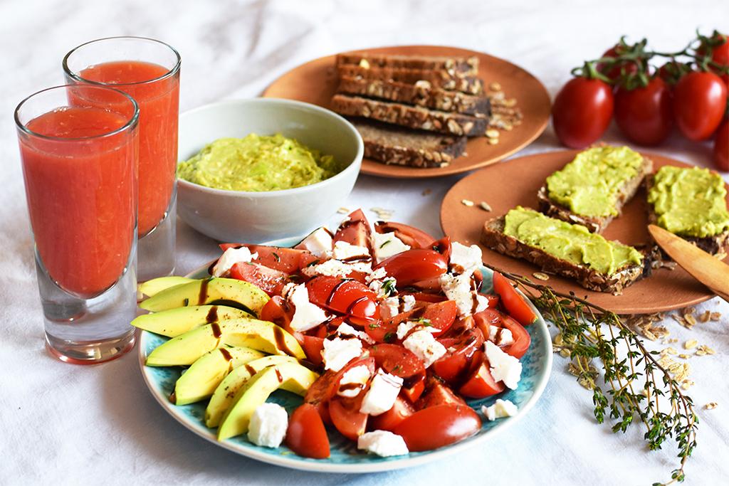 Avocado zum Frühstück