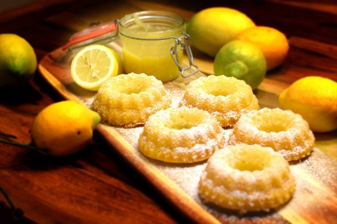 Kleine Zitronenkuchen