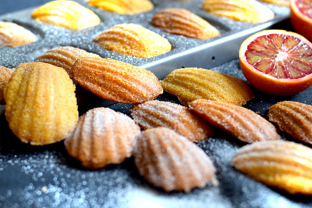 Orangen Madeleines
