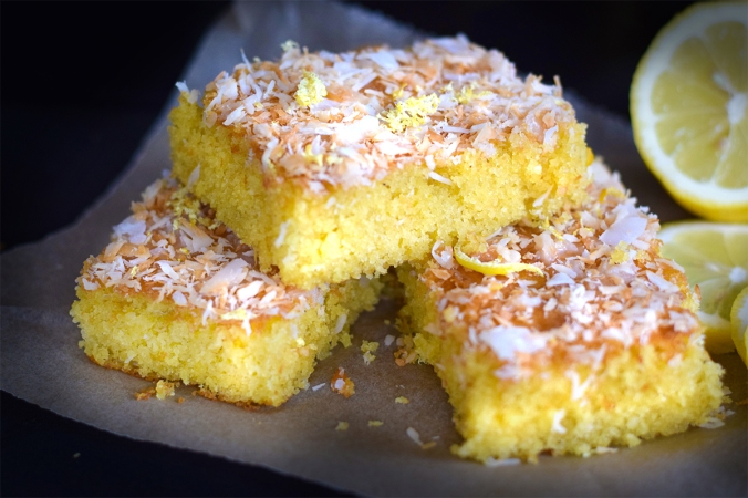 Lemon-coconutcake